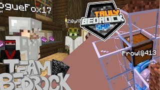 Truly Bedrock EP 3 The Librarian and Pranks Minecraft Bedrock Edition
