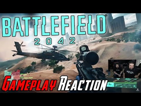 Battlefield 2042 Gameplay Trailer Angry Reaction!