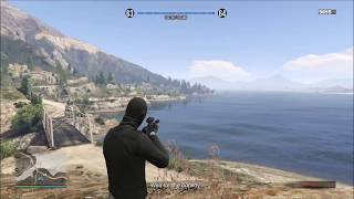 GTA V: EPIC SNIPER SHOT