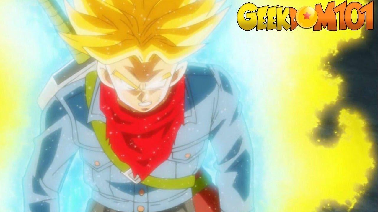 Dragon Ball Super - Trunks Super Saiyan Blue Beyond? - YouTube