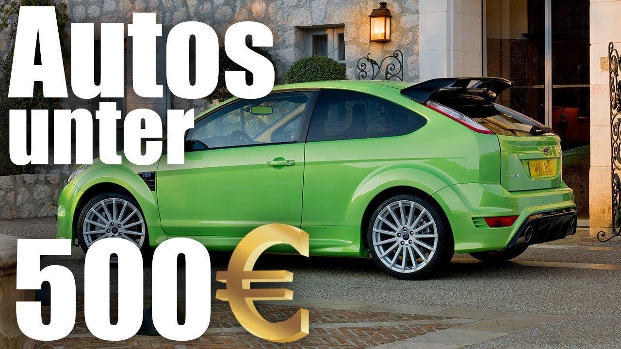 Autos Unter 500 Euro