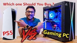 50K Gaming PC vs PS5... Which will Win ? 😱 Ultimate Showdown 🔥