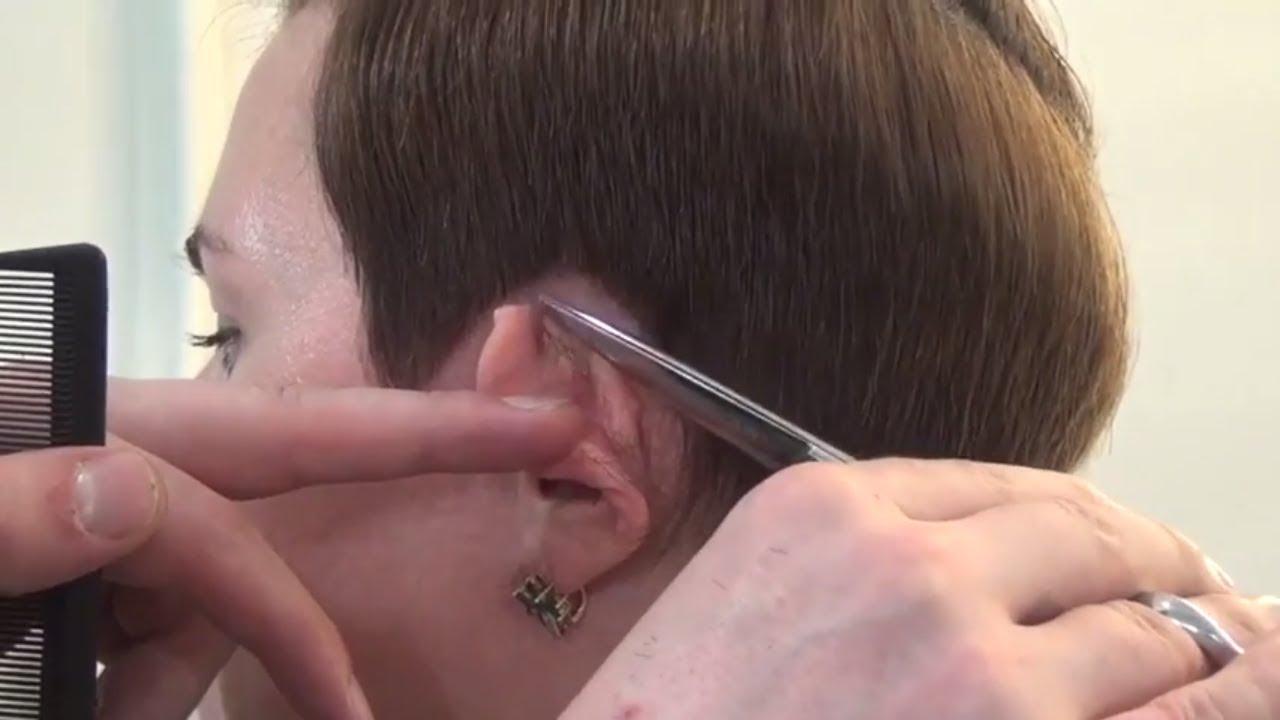 КАК СДЕЛАТЬ ОКАНТОВКУ И ТЕКСТУРУ - короткая женская стрижка. Курсы парикмахеров. Артем Любимов.