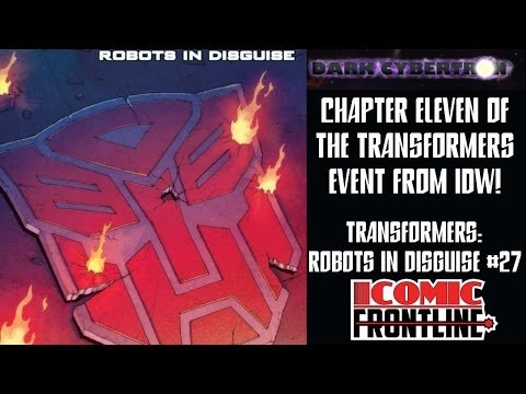 Transformers: Robots in Disguise #27 – Comic Review (Dark Cybertron)