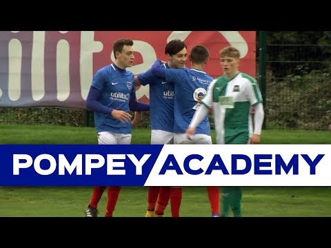 Academy Highlights: Pompey U18s 1-0 Plymouth Argyle U18s