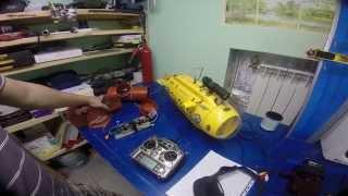 Submarine SB-1 Neptune ROV DiarFly - радиоуправляемая подводная лодка для