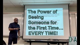 The Power of Seeing Someone for the First Time - Staying Adult!