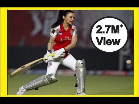 OMG @ shocking moment of preity zinta in ipl ##make sensational cricket thumbnail