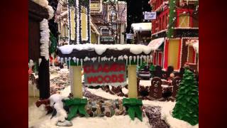 Caribe Royale Orlando Holiday Gingerbread Village Display