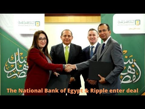 Ripple signs new remittance partner, Largest State-Owned Bank in Egypt Joining RippleNet