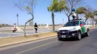 Persiguiendo la camioneta de Google Maps! (2) Free HD Video