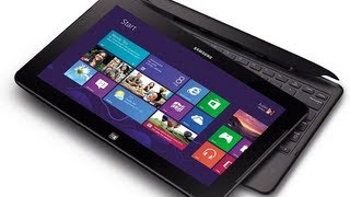 Review the Samsung Smart PC Pro 700t Tablet  1920x1080 128 4 gb Unboxing.