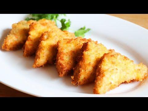 CRISPY Chinese Shrimp Toast Recipe 蝦多士 CiCi Li -Asian Home Cooking Recipes