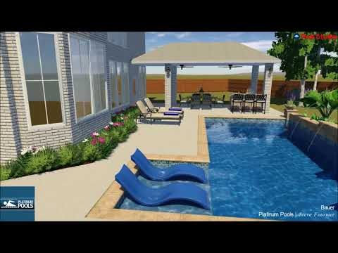 Pool Bauer platinum pools for the bauer family by steve fournier senior