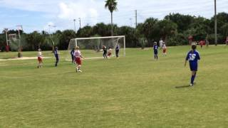 Satellite Lightning U11 Girls Competitive Soccer host Pt St John United