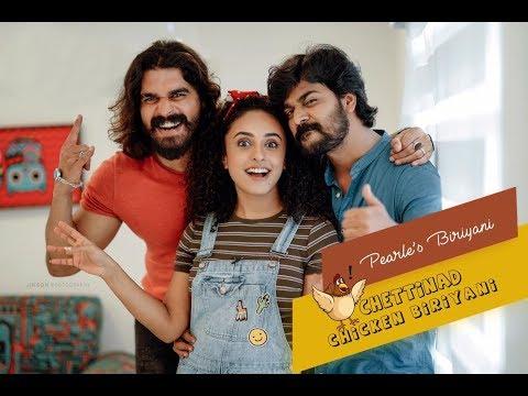 Pearle Maaney Show || Chettinad Chicken Biriyani || Srinish Aravind || Shiyas Kareem