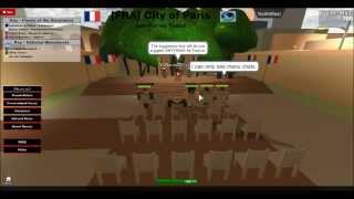 ROBLOX-[FRA]-Conferência de imprensa da República da França 7/28/13 parte 2