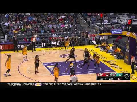 Game Recap: Tulsa Shock vs. Los Angeles Sparks,8/5/2014