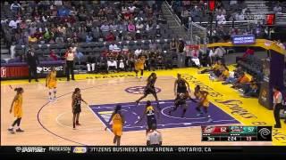 Game Recap: Tulsa Shock vs. Los Angeles Sparks,8/5/2014