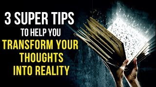 When You CHANGE YOUR THOUGHTS, You CHANGE YOUR REALITY (Law Of Attraction) Powerful!
