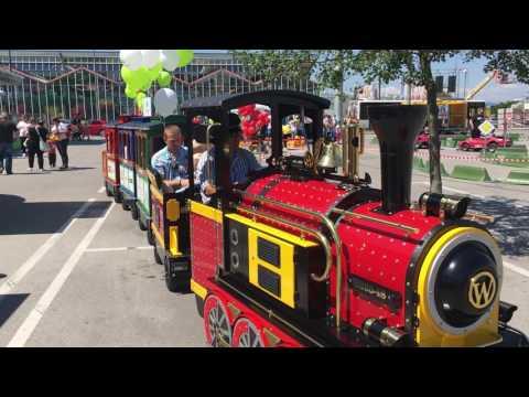 Mini Express train