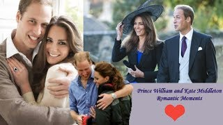 Prince William and Kate Middleton Romantic Moments - Royal Couple