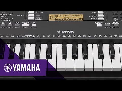Yamaha PSR-E363 Características principales | Keyboards | Yamaha Music | Español