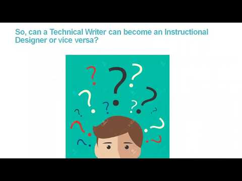 Instructional Design Vs Technical Writing Anuj Kapoor Youtube