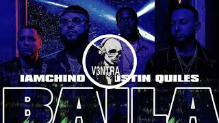 Cover images Farruko, Justin Quiles, I'm chino, Quimico Ultra Mega  - Baila Riddim (Extended DJ V3NTRA)