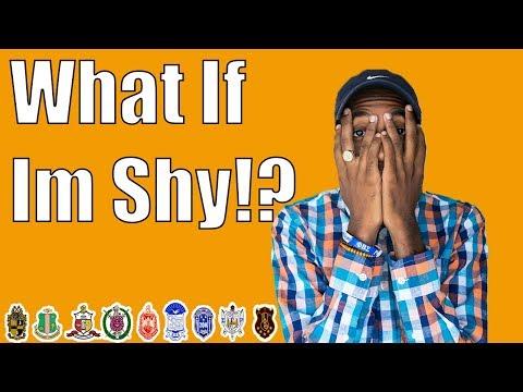 WHAT IF I'M SHY!? | NPHC ADVICE
