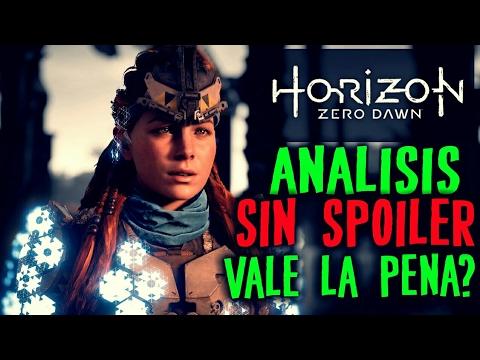 Horizon Zero Dawn - ANALISIS SIN SPOILER