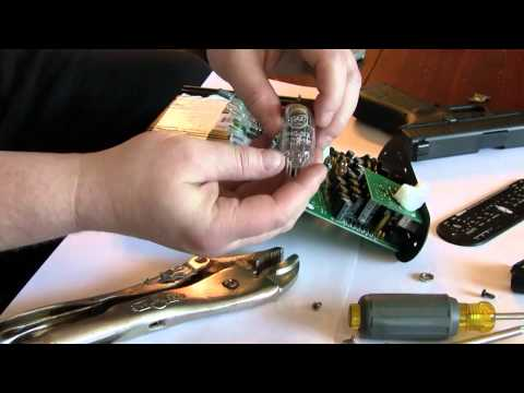 Changing the Tube on an ART MP USB Tube Preamp