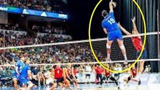 【バレーボール】身長'188cm、スパイク370cm!!テレルブラムウェルが狂!!【衝撃】Height '188 cm, spike 370 cm【volleyball】