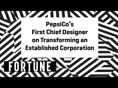 PepsiCo's First Chief Designer on Transforming an Established Corporation