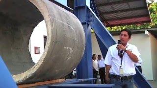 Rector de la UTP inaugura Obras en Coclé