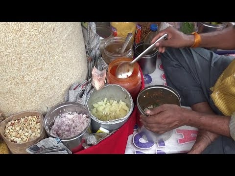 Most Favourite Exciting Masala Muri ( Jhal Muri ) In Kolkata Street | Only 10 Rs Each