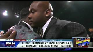 Laremy Tunsil and the $8 Mil. bong hit