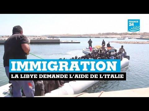 Immigration : la Libye demande de l'aide àl'Italie