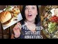 #8//Vegan Saturday Vlog //Sloppy Joe//Nachos//Groceries