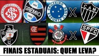 Domingo de decisões pelo Brasil. Quais os favoritos? Quem leva?