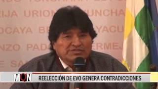 27/07/15 14:46 REELECCIÓN DE EVO GENERA CONTRADICCIONES