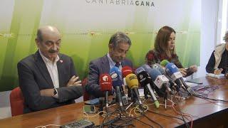"PRC pide a PSOE ""respeto"" a Revilla y reivindicar compromisos"