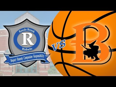 Reeds Brook Middle School B Basketball vs Brewer Middle School B