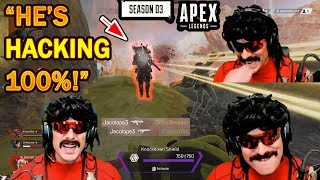 DrDisrespect Faces His FIRST HACKER in Season 3 in Apex Legends!