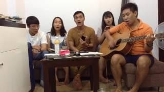 (Guitar) Thành Phố Buồn (Lam Phương) - cover by lớp Guitar 95 #SlowRock