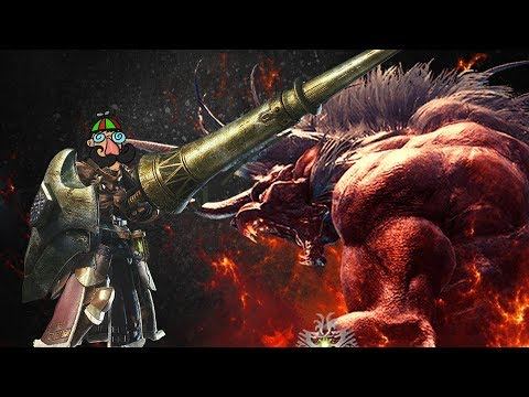 [Monster Hunter World] Extreme Behemoth (Insect Glaive / Lance) thumbnail