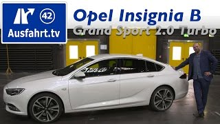 2017 Opel Insignia Grand Sport 2.0 Turbo AWD AT8 - Fahrbericht der Probefahrt  Test   Review