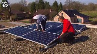 Placer des panneaux solaires vous-même