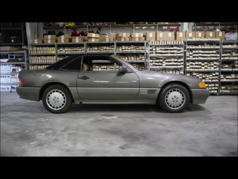 1991 mercedes benz sl 500 r129 used parts youtube