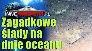 Dziwne regularne ślady na dnie Oceanu Spokojnego